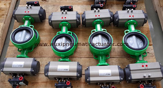 China China  Pneumatic Actuator with Double Acting and Spring Return for valves supplier