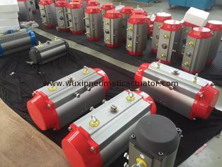 China rack and pinion air rotary actuators auto control butterfly valve supplier
