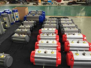 China 90 degree pneumatic valve actuator  (AT series) 0~90 Degree Double Acting Pneumatic Actuator supplier