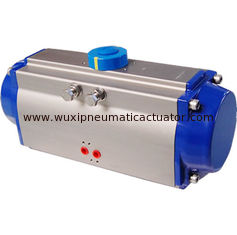China AT series double action and single action pneumatic rotary actuator for butterfly valve or ball valve supplier