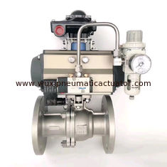 China at052 actuador neumtico  AT series small size pneumatic actuator for valves supplier