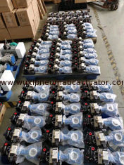 China DA pneumatic actuator double action control valves for fire truck supplier
