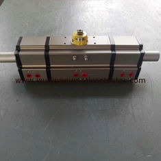 China Three position pneumatic rotary actuators 3 way cylinder control valve supplier