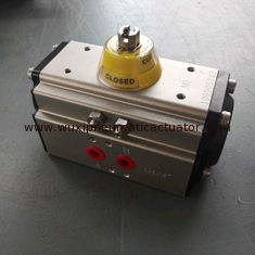 China DA 52 double action  aluminum alloy pneumatic rotary actuator supplier