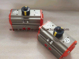 China aluminum alloy body pneumatic actuator mounting plate rotation angle 90 ° supplier
