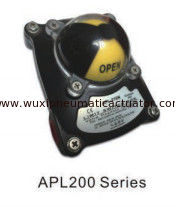 China APL200 limit switch box with omron switch for pneumatic actuator supplier
