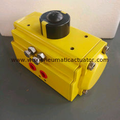 China aluminum alloy single effect and double acting pneumatic actuator supplier