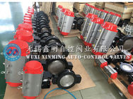 High performance 90 degree DA/SR rack and pinion pneumatic actuator supplier