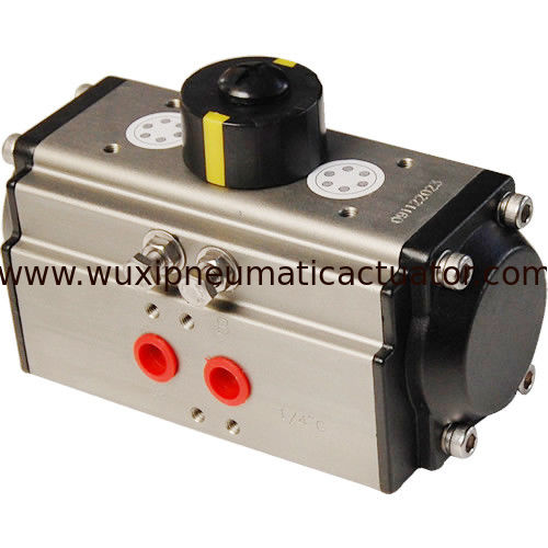 OEM rack and pinion pneumatic rotary actuator control butterfly valve and ball valve supplier