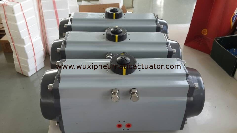 pneumatic air control rotary actuator for ball valves and butterfly valves supplier