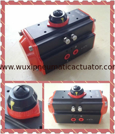 rack and pinion quarter-turn  air rotary actuators  control butterfly valve ball valve supplier
