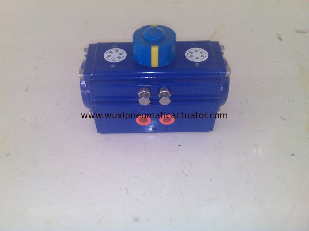 wuxi air torque rack and pinion  pneumatic rotary actuator supplier