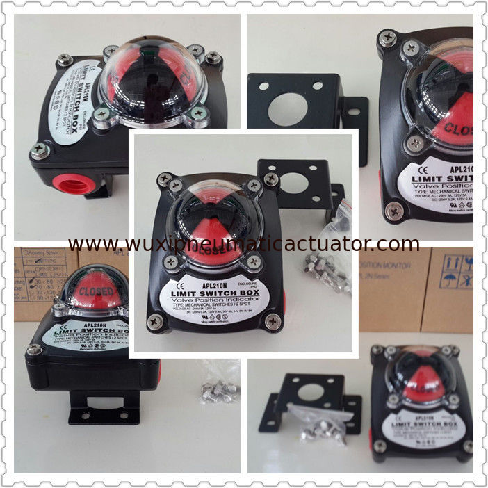 limit switch box for pneumatic rotary actuator APL-210N supplier