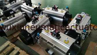pneumatic control valves pneumatic actuator for butterfly / ball valves supplier