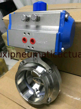 90 degree pneumatic rotary actuator double and single effect supplier