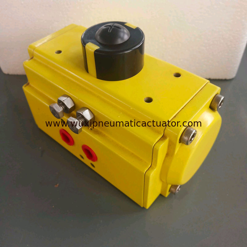 aluminum alloy single effect and double acting pneumatic actuator supplier