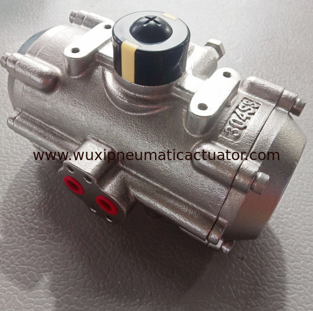 stainless steel 304/316 pneumatic rotary actuator double acting single acting supplier