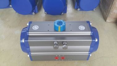 rack pinion actuator aluminum alloy rotary  pneumatic actuator control for valves