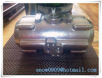 China 304SS/316S stainless steel  body quarter-turn  pneumatic rotary actuators for VALVES factory