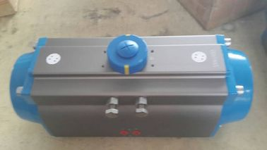 spring return pneumatic rotary actuator  single action pneumatic actuator