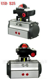 AT series double action(DA) and spring return (SR) air rotary actuator with limit switch box