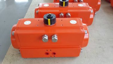 China spring return  single action rack and pinion pneumatic actuator factory