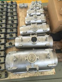 China stainless steel SS304/SS316 body pneumatic rotary actuators for butterfly valves ball valves factory