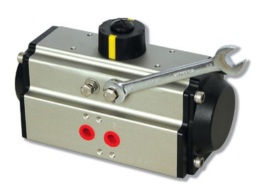 AT pneumatic actuators double action and spring return  pneumatic flow control valve