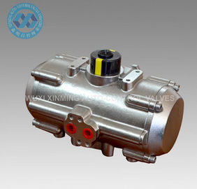Stainless Steel air torque actuator pneumatic control for ball valves