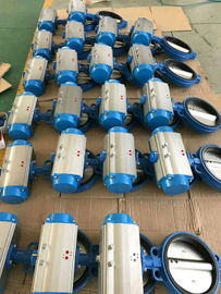 Pneumatic Rotary Actuator Qperated Butterly Valve