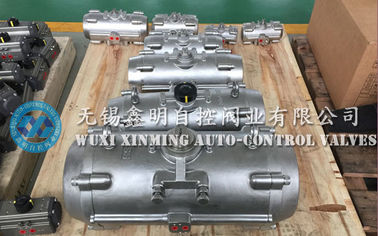 316 / 304  stainless steel rack pinion quarter-turn pneumatic rotary actuators for valves