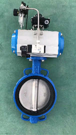 single acting pneumatic butterfly  pneumatic control valves