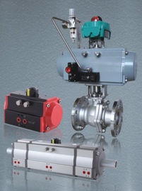 China rack and pinion aluminum alloy PNEUMATIC ACTUATOR factory
