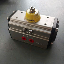 China DA 52 double action  aluminum alloy pneumatic rotary actuator factory