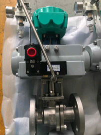 rack and pinion single acting pneumatic actuator control valve