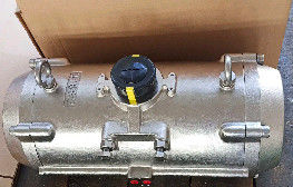stainless steel 304 316 material pneumatic rotary actuator for valves