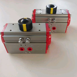 China aluminum alloy  two stage pneumatic actuators with limit siwtch box factory