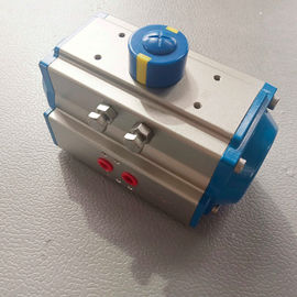 China AT Pneumatic Actuator Rack and Pinion Double Effect and Single Effect  Aluminum Actuator Ce Ex factory