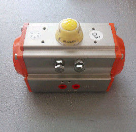 at Series Pneumatic Rotary Actuator Double Acting and Spring Return Aluminum Actuator