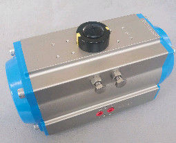 0~90 Degree Double Acting Pneumatic Rotary Actuator Rack And Pinion Rotary Actuator AT32-400
