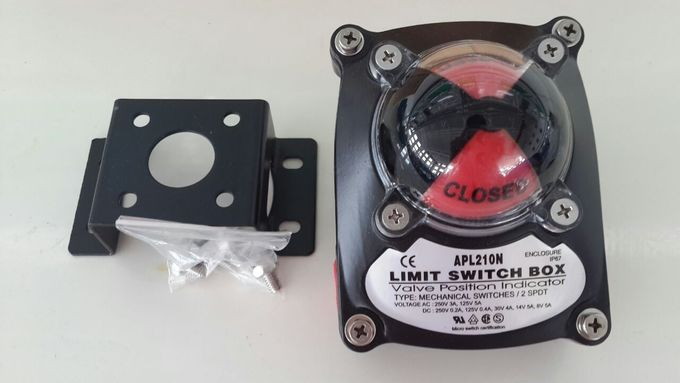 limit switch box for pneumatic rotary actuator APL-210N 4