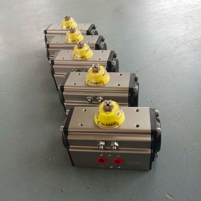 DA 52 double action  aluminum alloy pneumatic rotary actuator
