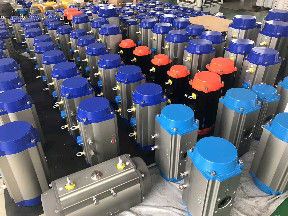 AT Pneumatic Actuators  32-400 Single Acting Rack And Piston Type ISO5211